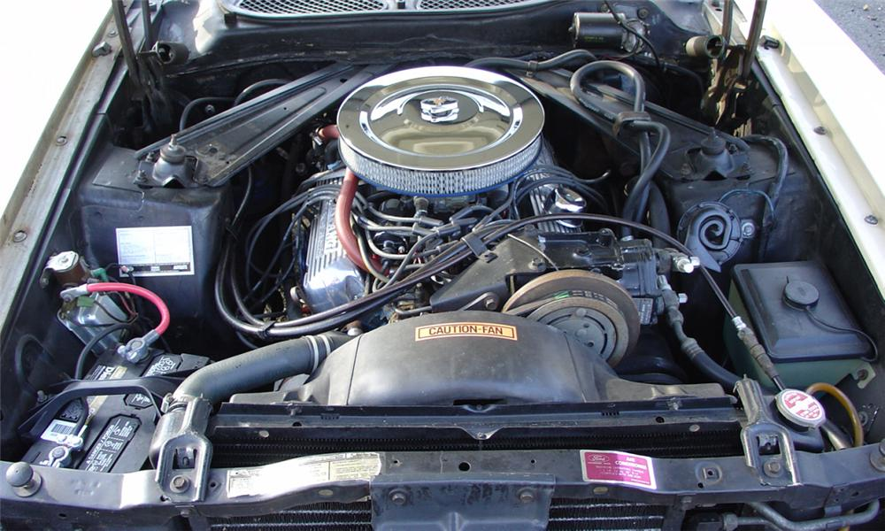 1971 FORD MUSTANG COUPE - Engine - 39903
