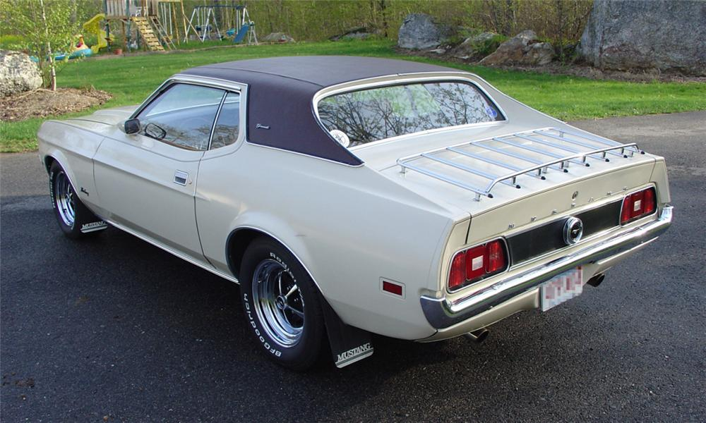 1971 FORD MUSTANG COUPE - Rear 3/4 - 39903