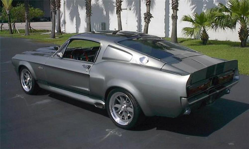 1967 FORD MUSTANG ELEANOR RE-CREATION - Rear 3/4 - 39904