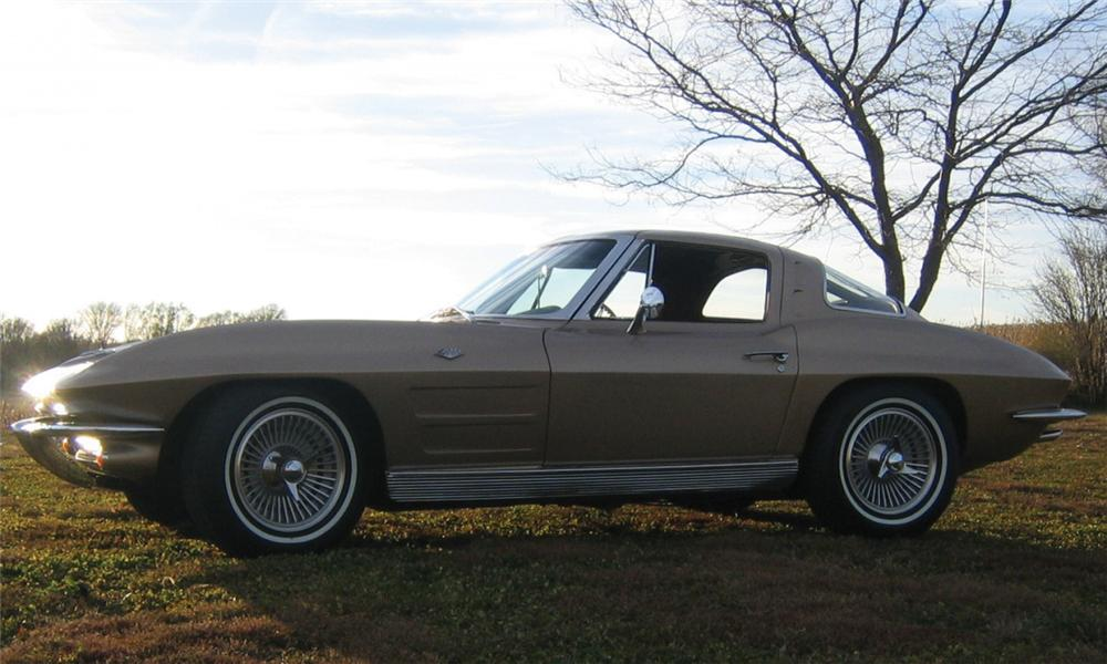1963 CHEVROLET CORVETTE SPLIT WINDOW COUPE - Front 3/4 - 39906