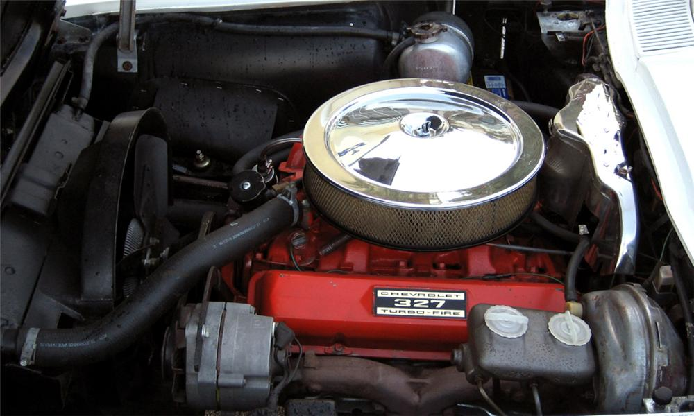 1966 CHEVROLET CORVETTE 327/300 CONVERTIBLE - Engine - 39907