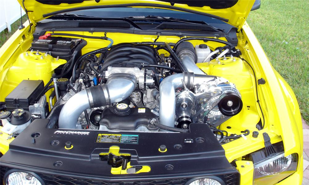 2005 FORD MUSTANG GT CUSTOM COUPE - Engine - 39910