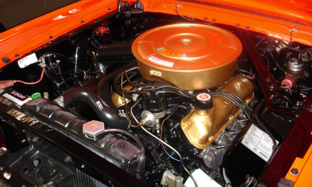 1965 FORD MUSTANG CONVERTIBLE - Engine - 39924