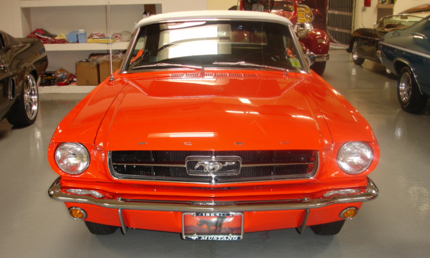 1965 FORD MUSTANG CONVERTIBLE - Side Profile - 39924