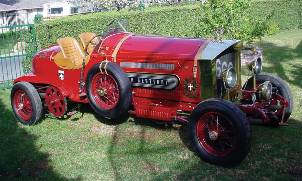 1919 LA BESTIONI FIRE TRUCK HOT ROD - Front 3/4 - 39930