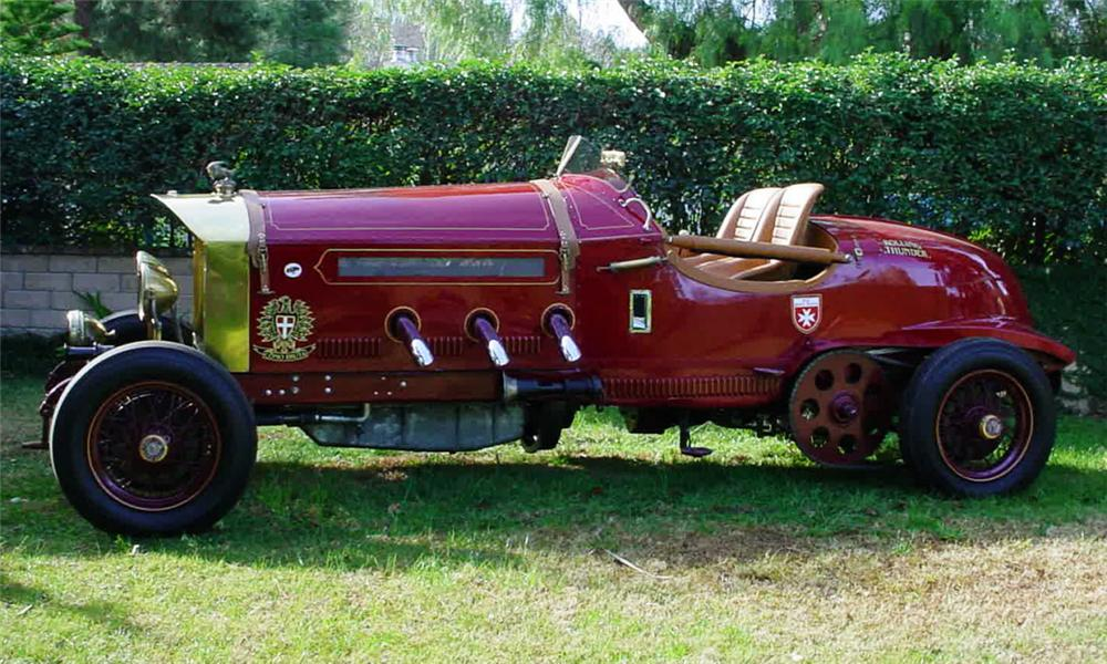 1919 LA BESTIONI FIRE TRUCK HOT ROD - Side Profile - 39930