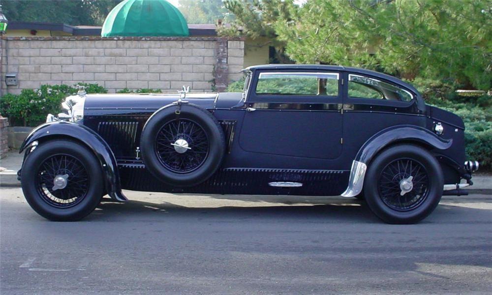1931 BENTLEY ZER-GREEN AERO COUPE HOT ROD - Side Profile - 39934