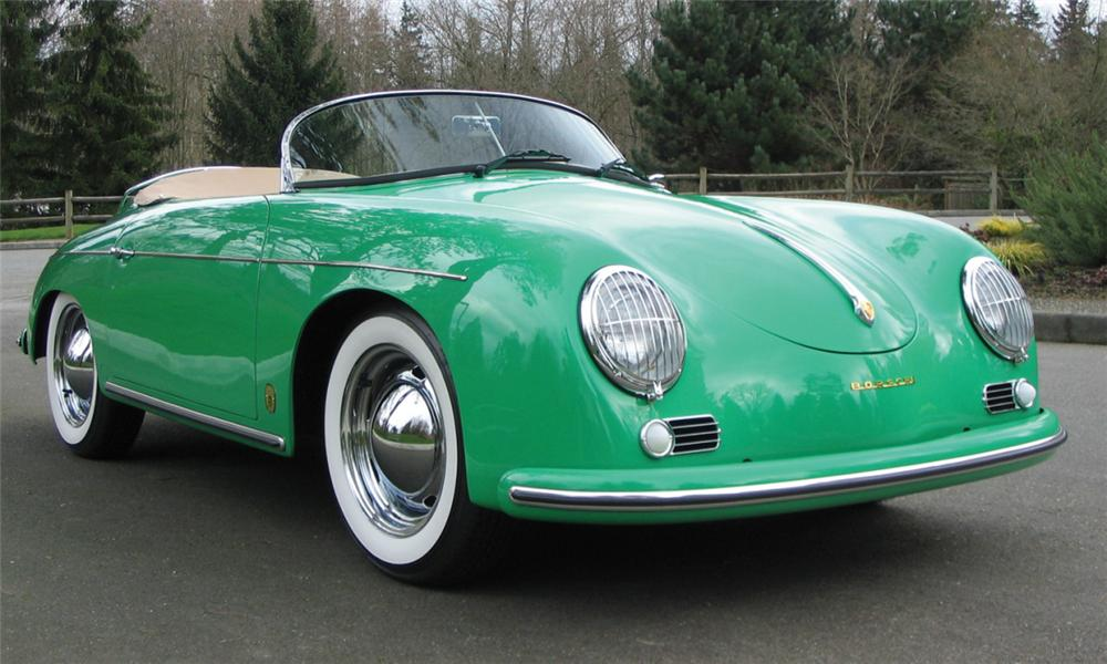 1957 PORSCHE SPEEDSTER RE-CREATION - Front 3/4 - 39939