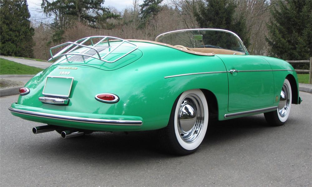 1957 PORSCHE SPEEDSTER RE-CREATION - Rear 3/4 - 39939