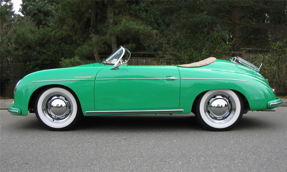 1957 PORSCHE SPEEDSTER RE-CREATION - Side Profile - 39939