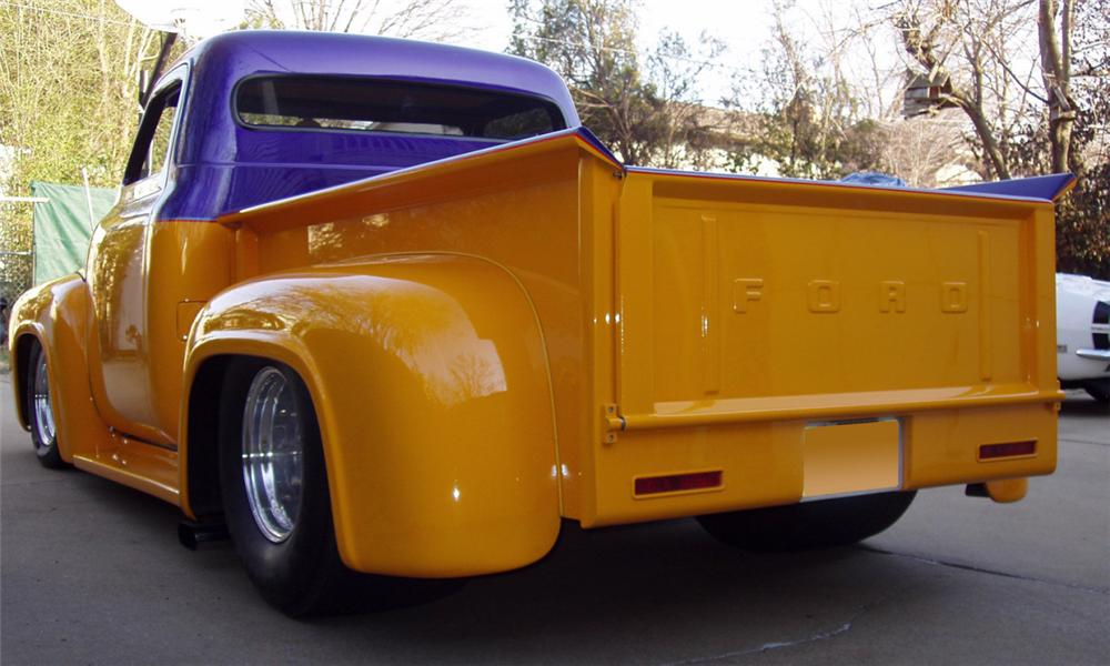 1953 FORD F-100 CUSTOM PICKUP - Rear 3/4 - 39947