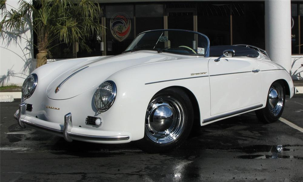 1957 PORSCHE SPEEDSTER RE-CREATION - Front 3/4 - 39950