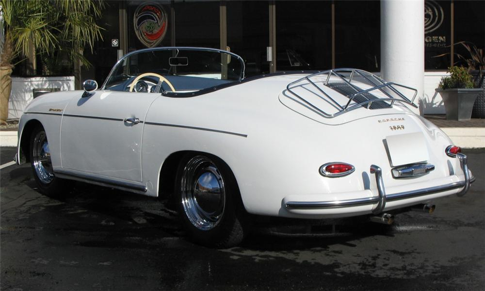 1957 PORSCHE SPEEDSTER RE-CREATION - Rear 3/4 - 39950