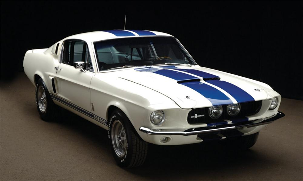 1967 SHELBY GT500 FASTBACK - Front 3/4 - 39962