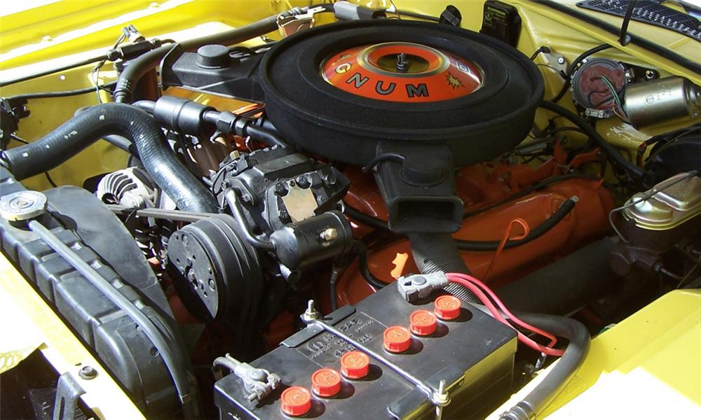 1970 DODGE CHALLENGER R/T CONVERTIBLE - Engine - 39963