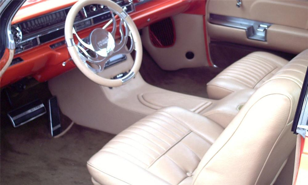 "1961 CADILLAC COUPE DE VILLE ""COLORADO CADDY"" - Interior - 39964"