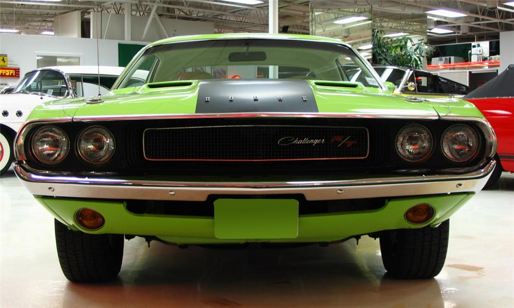1970 DODGE CHALLENGER R/T COUPE - Side Profile - 39966