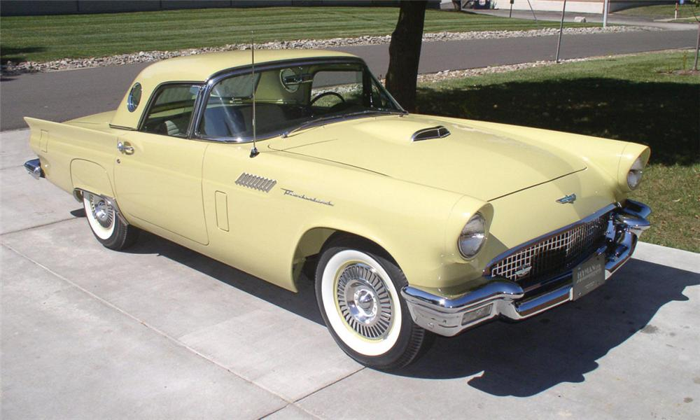 1957 FORD THUNDERBIRD CONVERTIBLE - Front 3/4 - 39969