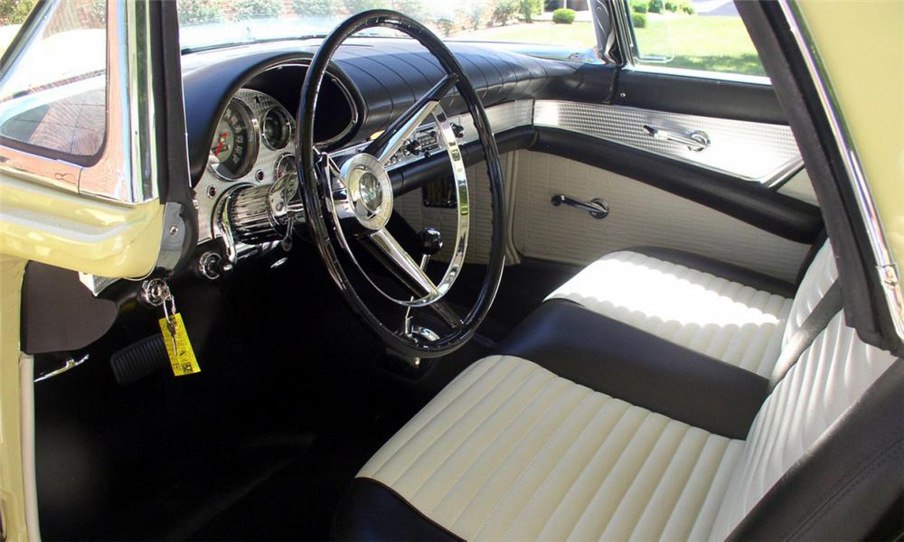 1957 FORD THUNDERBIRD CONVERTIBLE - Interior - 39969