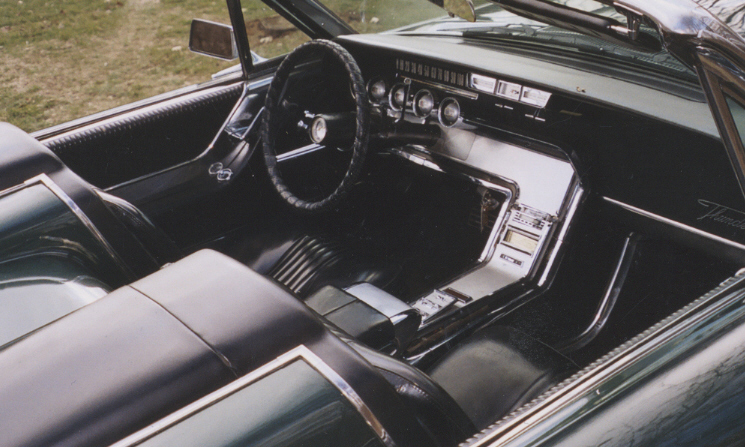 1964 FORD THUNDERBIRD CONVERTIBLE - Interior - 39976