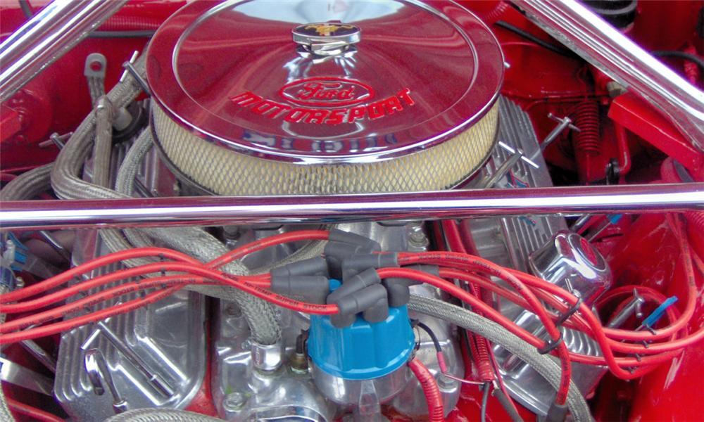 1966 FORD MUSTANG CUSTOM COUPE - Engine - 39981