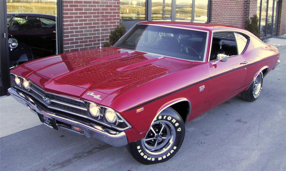 1969 CHEVROLET CHEVELLE SS 396 COUPE - Front 3/4 - 39982