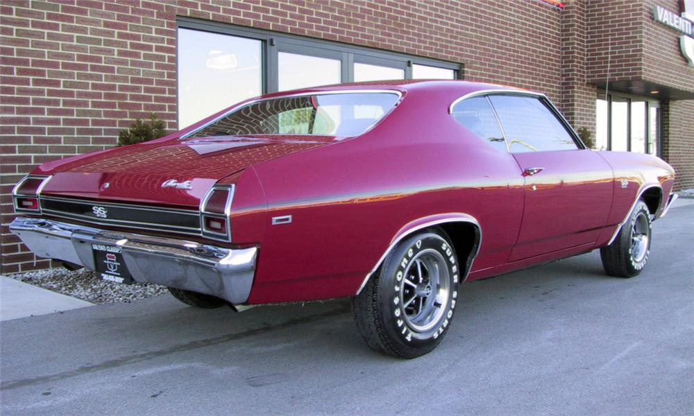 1969 CHEVROLET CHEVELLE SS 396 COUPE - Rear 3/4 - 39982