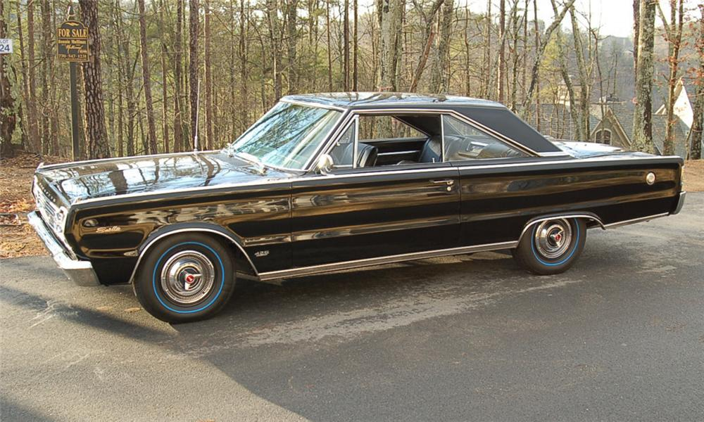 1966 PLYMOUTH HEMI SATELLITE 2 DOOR HARDTOP - Side Profile - 39990