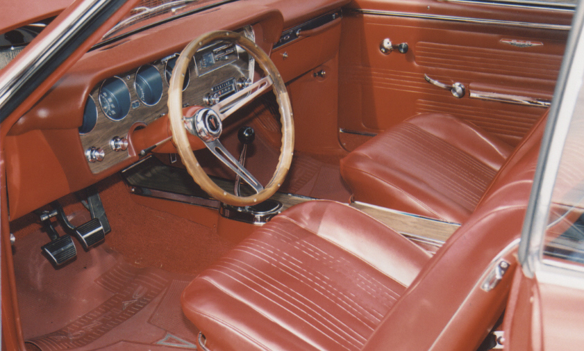 1967 PONTIAC GTO COUPE - Interior - 39992