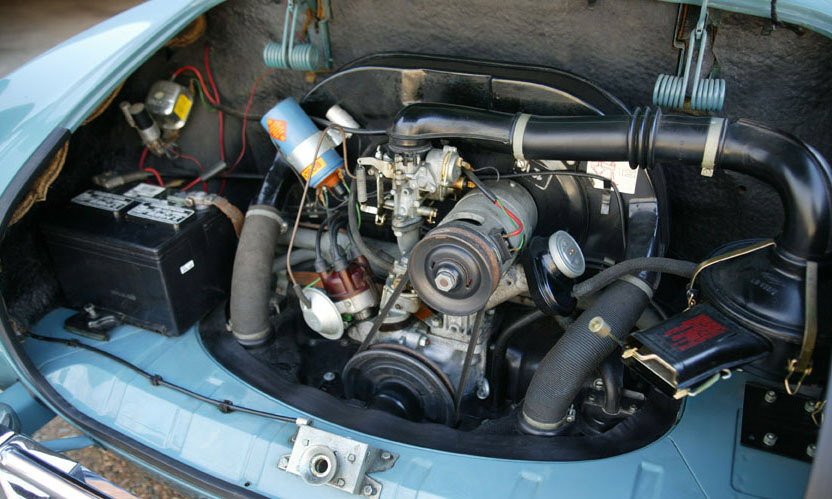 1967 VOLKSWAGEN KARMANN GHIA 2 DOOR SEDAN - Engine - 40000