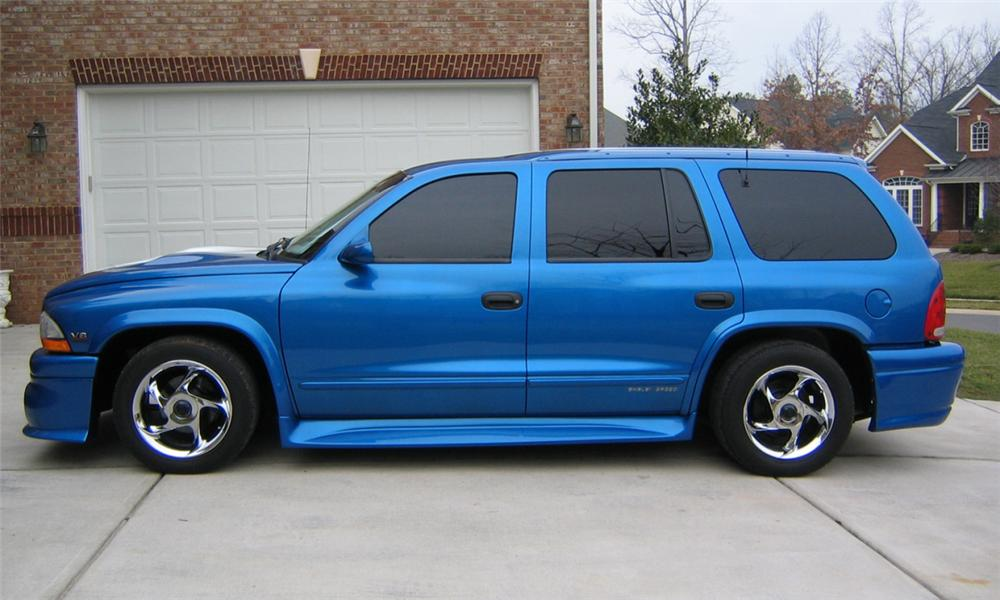 1999 DODGE DURANGO CUSTOM SUV - Side Profile - 40002