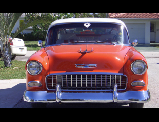 1955 CHEVROLET 210 CUSTOM 2 DOOR HARDTOP -  - 40008