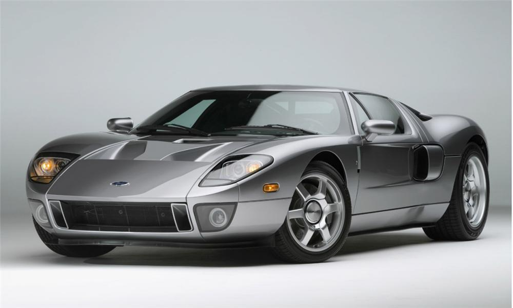 2005 FORD GT COUPE - Front 3/4 - 40009