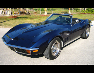 1972 CHEVROLET CORVETTE CONVERTIBLE -  - 40011