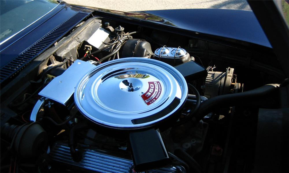 1972 CHEVROLET CORVETTE CONVERTIBLE - Engine - 40011