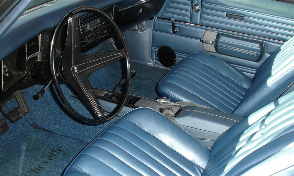 1968 CHEVROLET CHEVELLE SS 396 COUPE - Interior - 40015