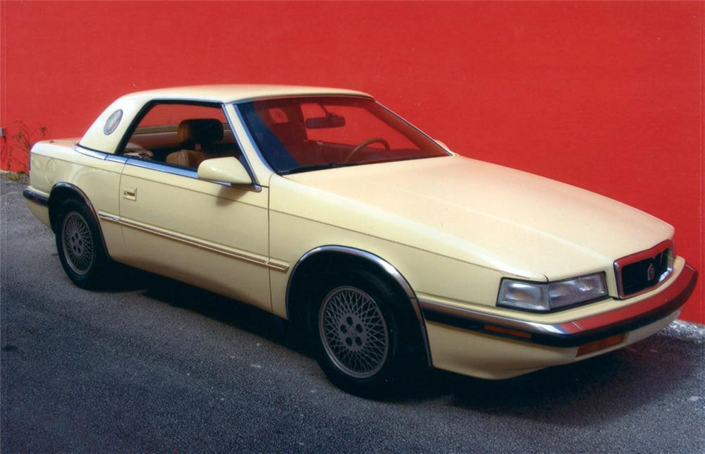 1989 CHRYSLER MASERATI TC ROADSTER - Front 3/4 - 40017