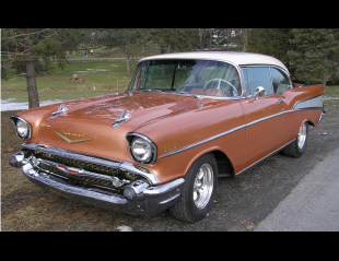 1957 CHEVROLET BEL AIR SPORT COUPE -  - 40022