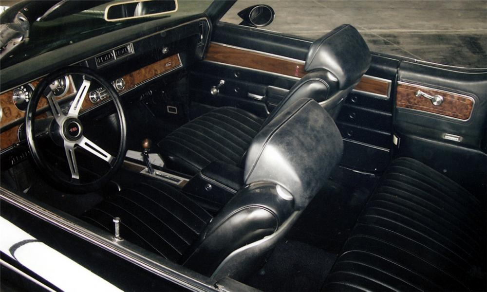 1970 OLDSMOBILE 442 CONVERTIBLE W30 RE-CREATION - Interior - 40023