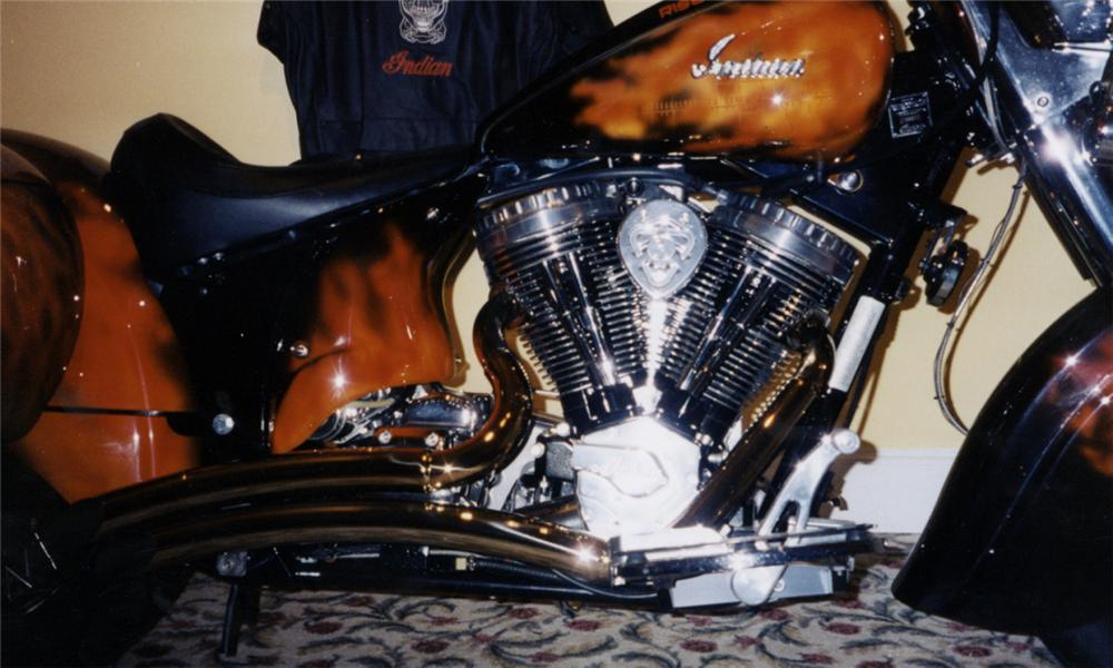 2003 INDIAN CHIEF T-3 MOTORCYCLE - Engine - 40024