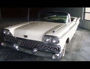 1959 FORD RETRACTABLE CONVERTIBLE -  - 40025