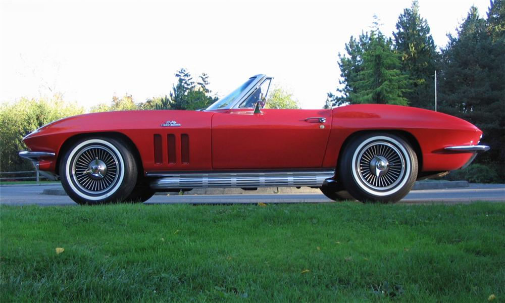 1966 CHEVROLET CORVETTE CONVERTIBLE - Engine - 40031