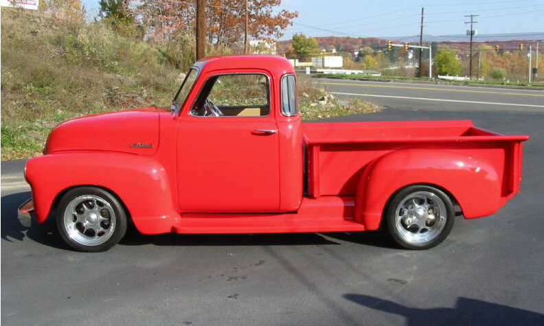 1949 CHEVROLET 3100 CUSTOM PICKUP - Front 3/4 - 40037