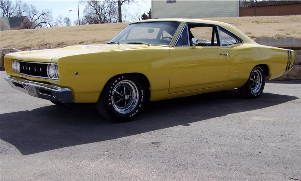 1968 DODGE SUPER BEE 2 DOOR HARDTOP - Front 3/4 - 40038