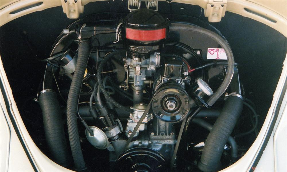 1965 VOLKSWAGEN BEETLE COUPE - Engine - 40039