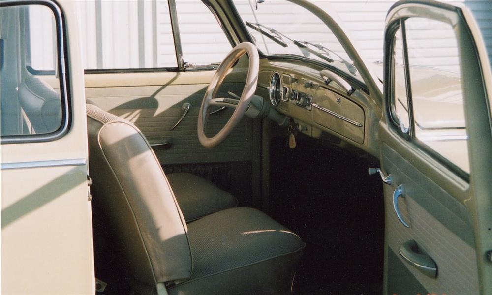 1965 VOLKSWAGEN BEETLE COUPE - Interior - 40039