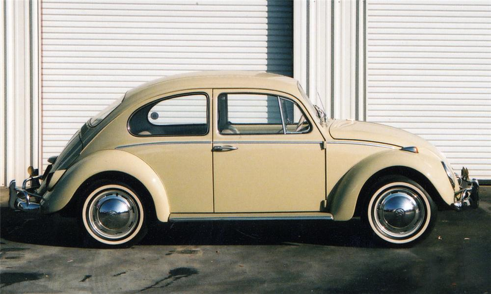 1965 VOLKSWAGEN BEETLE COUPE - Side Profile - 40039