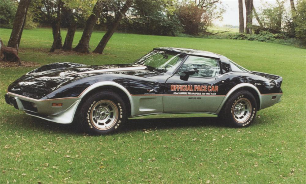 1978 CHEVROLET CORVETTE PACE CAR COUPE - Front 3/4 - 40040