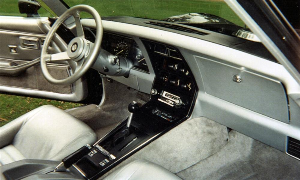 1978 CHEVROLET CORVETTE PACE CAR COUPE - Interior - 40040