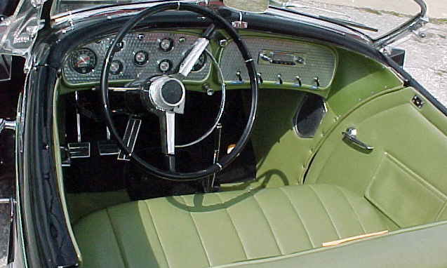 1971 AUBURN BOATTAIL SPEEDSTER RE-CREATION - Interior - 40041